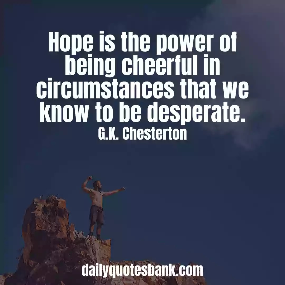 Inspirational Quotes About Hope For The Future