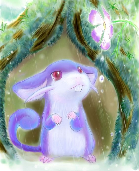 Pokemon Rattata - Pokemon Art