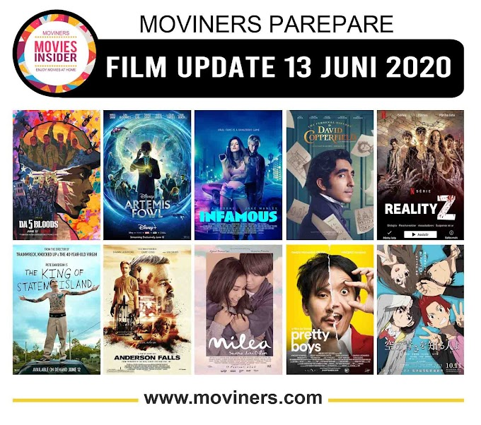 FILM UPDATE 13 JUNI 2020