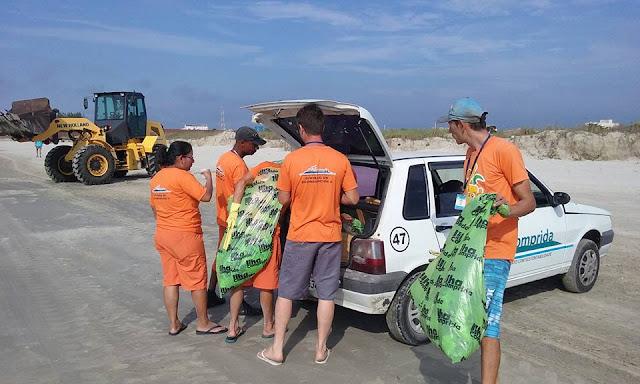 Ilha Comprida  inicia Projeto Cidade Limpa