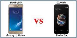 Perbandingan Xiaomi Redmi 5A VS Samsung Galaxy J2 Prime : Manakah Yang Terbaik?