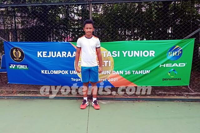 Atlet Binaan JITA Sukses Melaju ke Final Kejuaraan  Invitasi Tenis Yunior PP PELTI