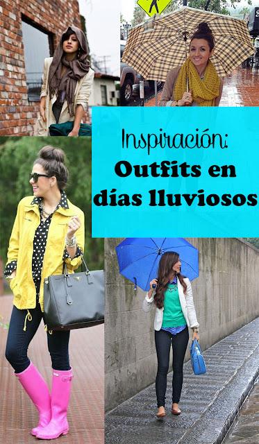 lluvia looks qué vestir día lluvioso blog tips