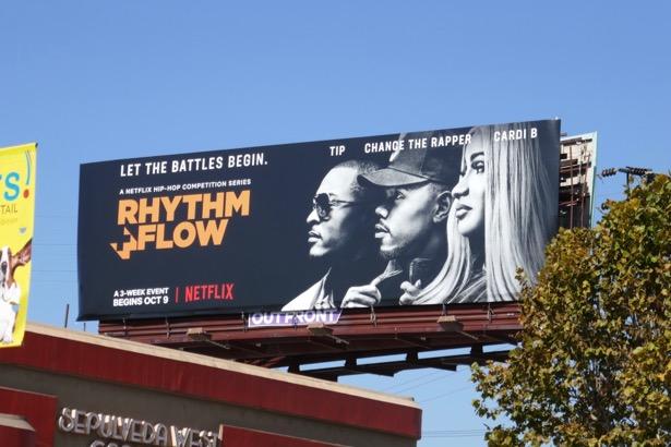 Rhythm Flow Netflix series billboard