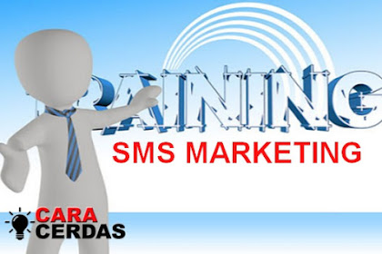 Belajar Gratis Cara Cerdas SMS Marketing