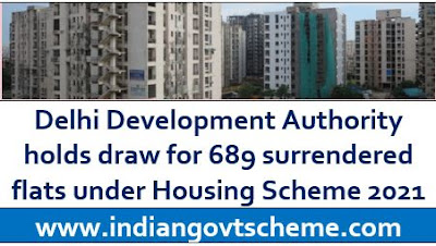 Delhi Development Authority Housing Scheme