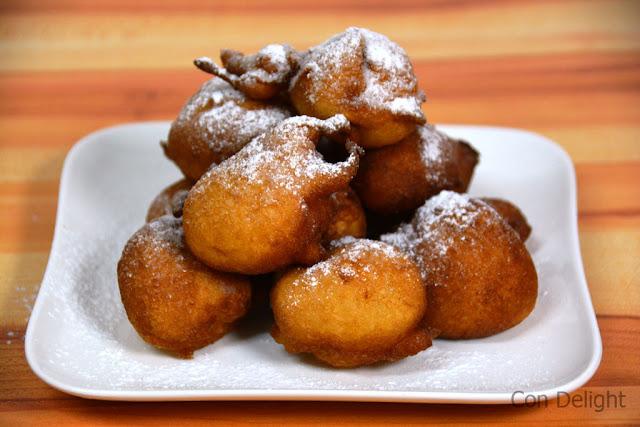 טיגוניות בצק דונטלה מ-4 מרכיביםdonutella  4 ingredients fried dough donuts