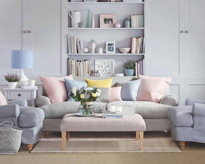 Subtle Peaches Pinks And Copper Shades Add Warmth An Art Deco Feel To A Room H M Home Have Great Selection Of Rose Gold Accessories That Don T Cost