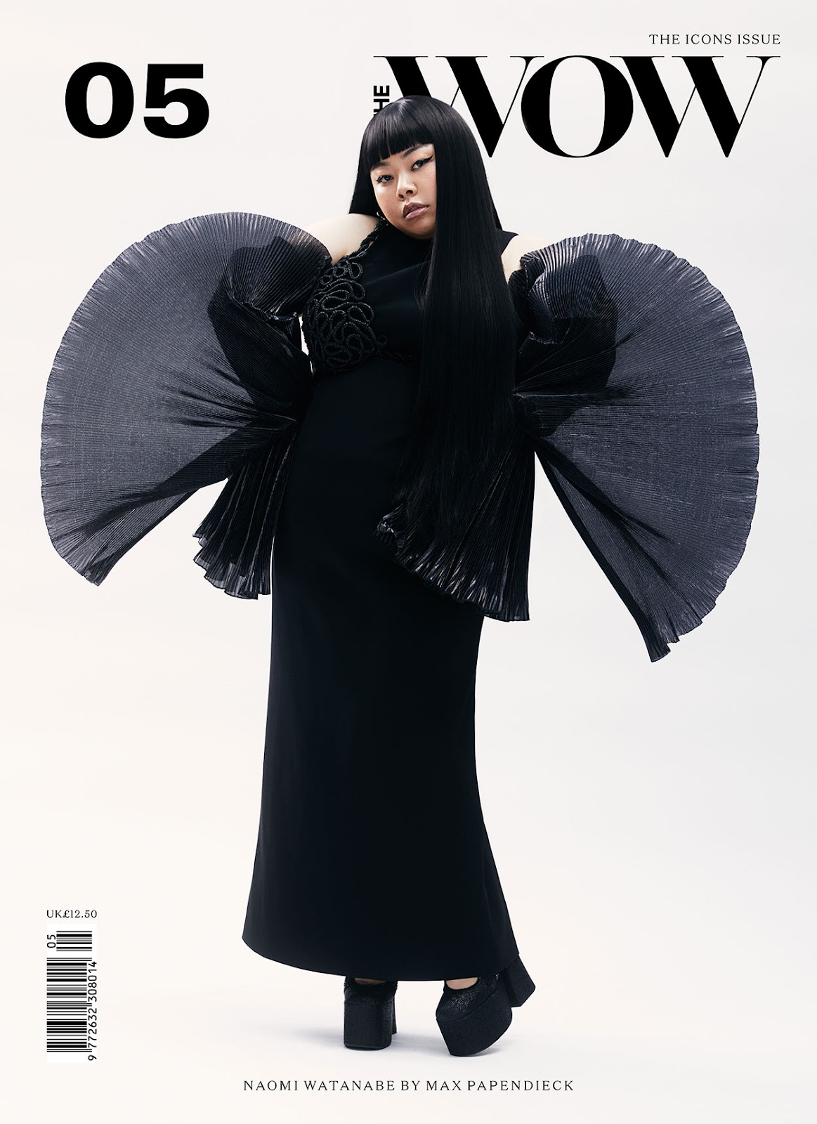 SMILE: Naomi Watanabe in The WOW Magazine #5 2021 by Max Papendieck