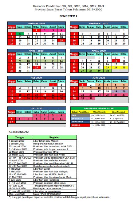 Download KALDIK Jawa Barat 2019/2020