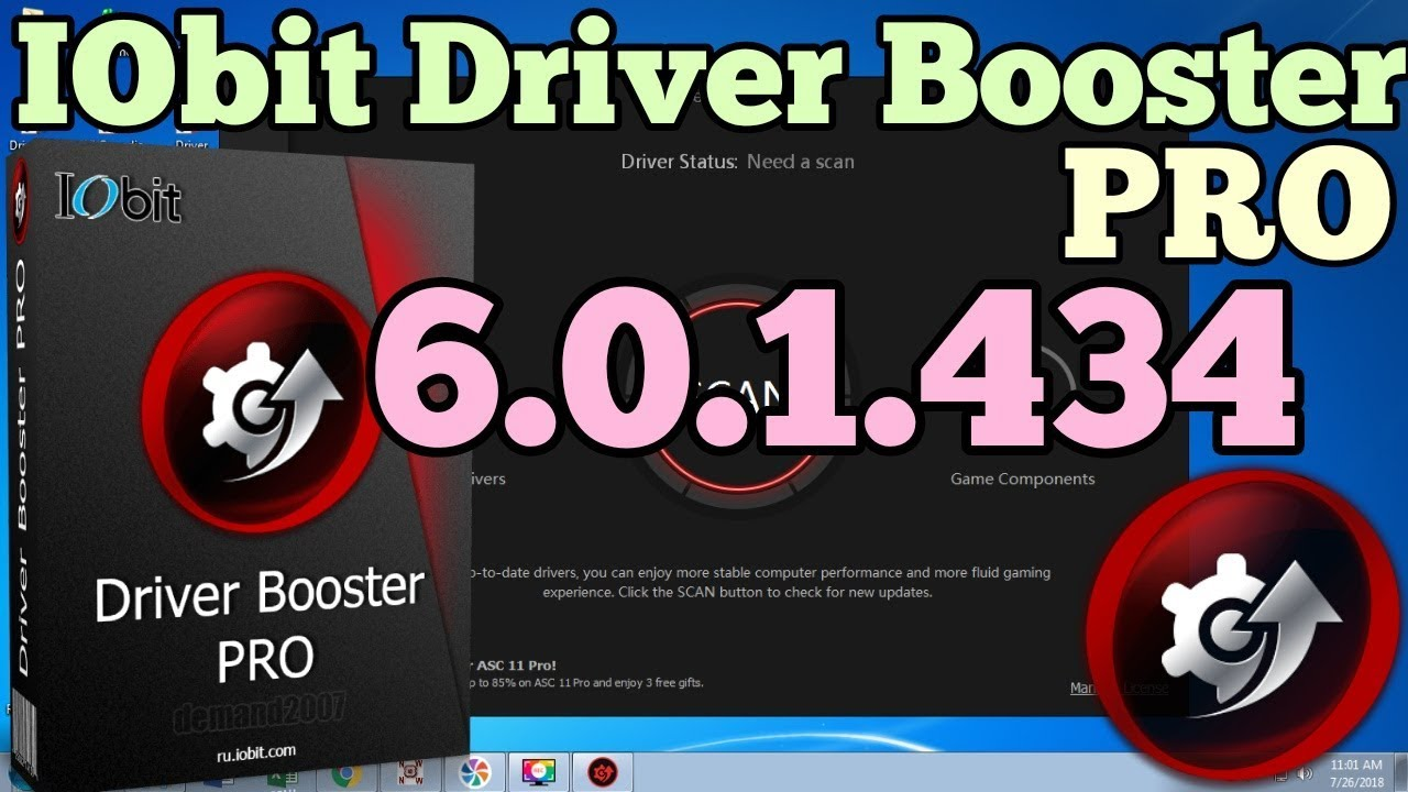 serial driver booster 6 0