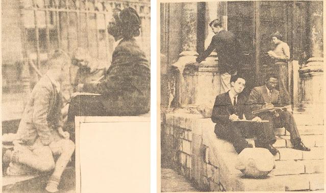 International students on York's architectural summer schools, 1940s-1950s Summer