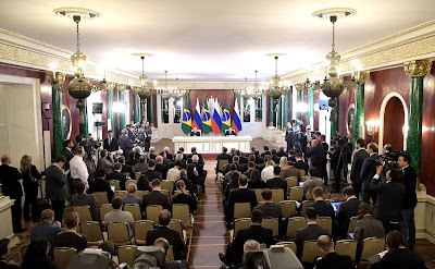 Press statements following Russian-Brazilian talks.