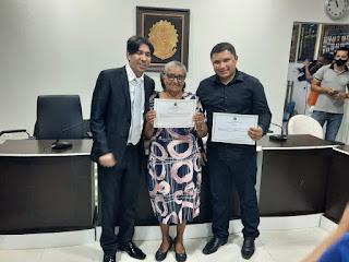 Na noite desta sexta-feira 18 Tiago Pereira foi diplomado vereador por Cacimba de Dentro PB.