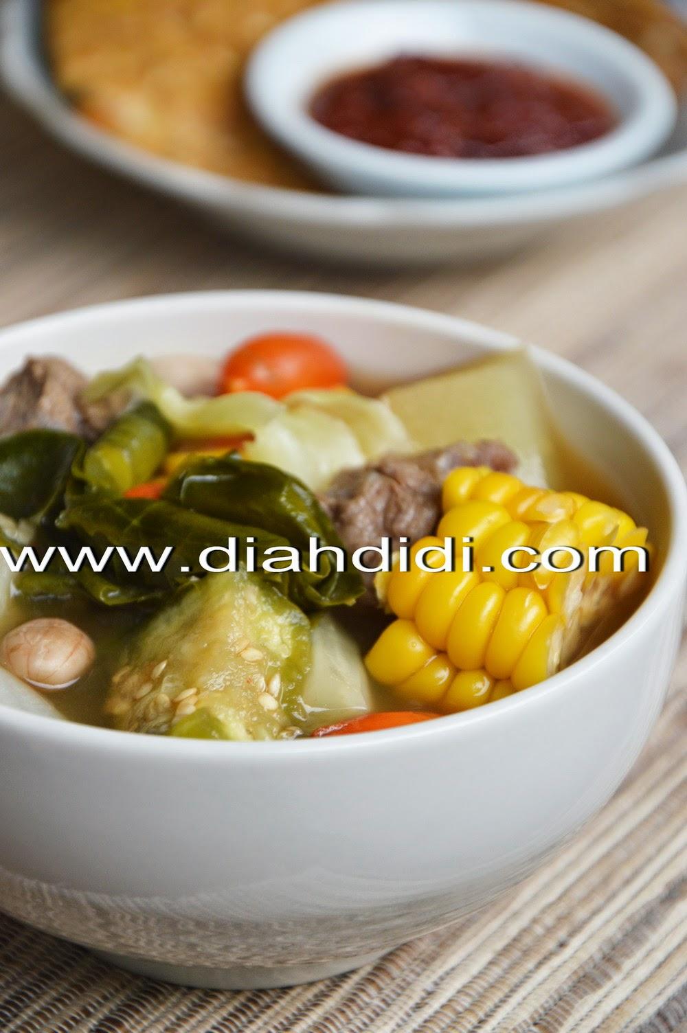 Diah Didis Kitchen Sayur Asem Sunda