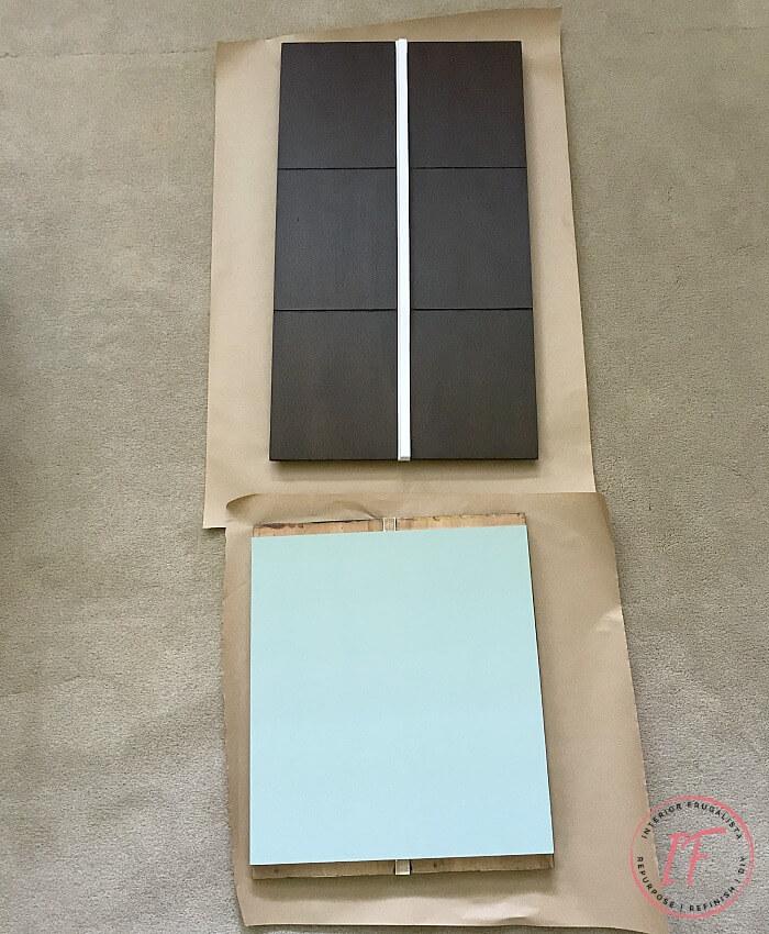 Faux Apothecary Dresser DIY Cupboard Doors