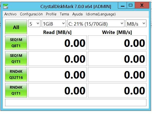 CrystalDiskMark 7.0.0f poster box cover