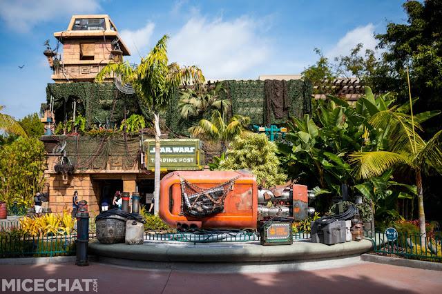 Legacy Passholder率先預覽加洲迪士尼樂園度假區 Disneyland Resort Downtown Disney Star Wars Trading Post