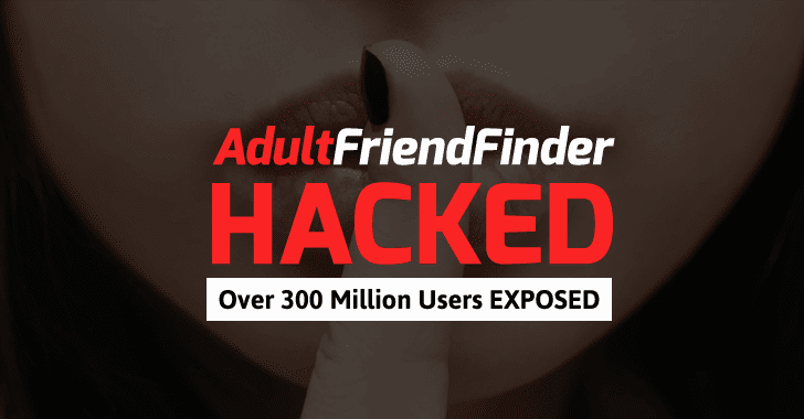 Over 300 Million AdultFriendFinder Accounts Exposed in Massive Data Breach