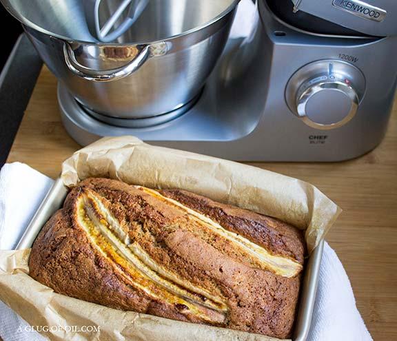 Banana Bread and the Kenwood Chef Elite