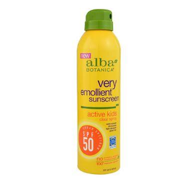 Alba Botanica Very Emollient Sunscreen SPF50