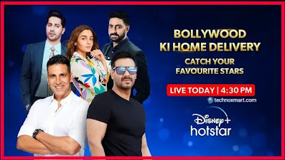 Disney+ Hotstar Unveils 'Bollywood Ki Home Delivery' With Akshay Kumar, Alia Bhatt, 3 More