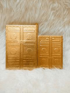 al-quran emas, al-quran emas cover kabah, al-quran emas cover pintu kabah, al-quran cover kabah, al-quran cover pintu kabah