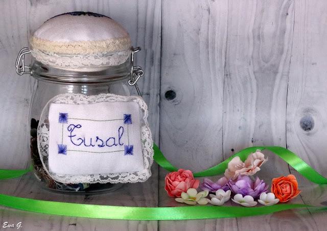 TUSAL 2018 - czerwiec oraz kwiatuszki z foamiranu