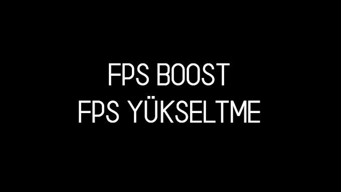 MTA SA FPS Boost - FPS Yükseltme
