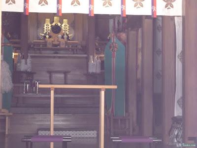 式内比賣許曾神社拝殿