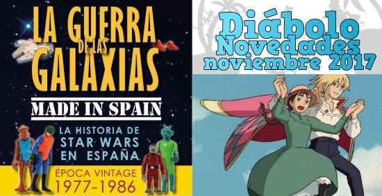 Diábolo Ediciones: Novedades Noviembre 2017
