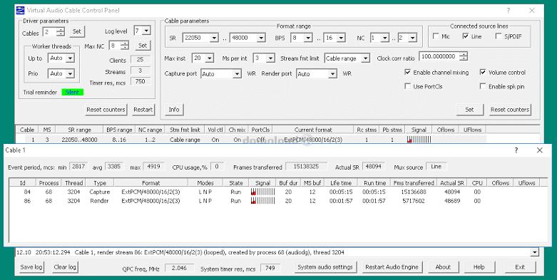 تحميل برنامج Virtual Audio Cable 4.62 كامل مع التفعيل