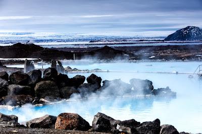 Aguas termales de los baños naturales de Myvatn