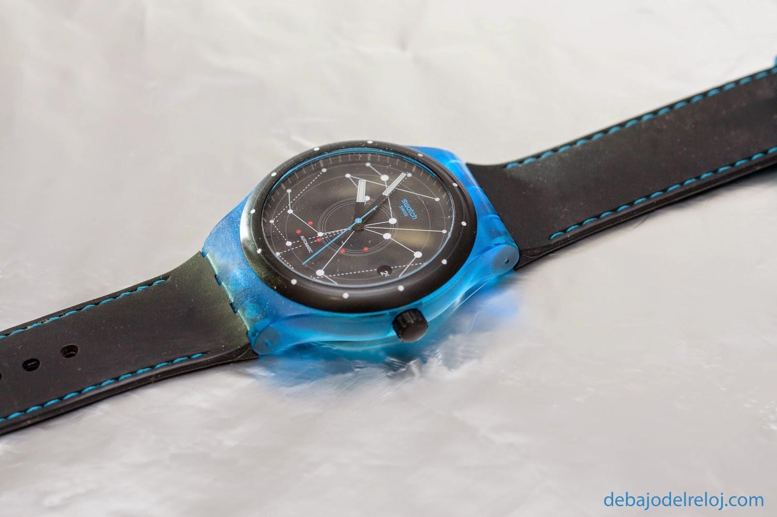 Uno de mis relojes: Swatch Sistem51 debajodelreloj2