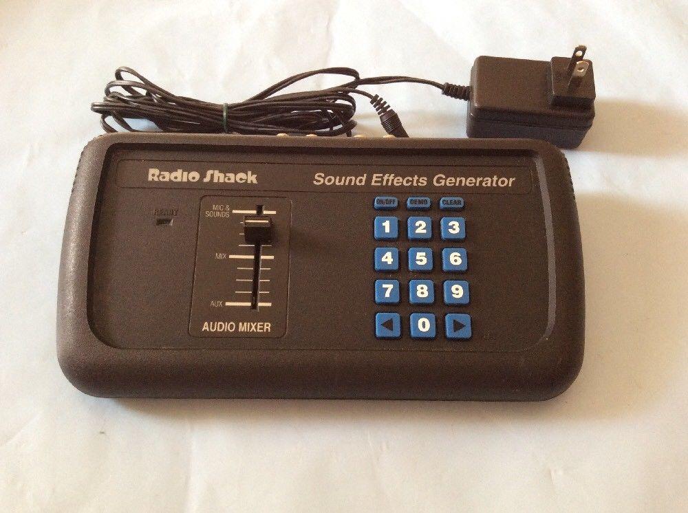 MATRIXSYNTH: Radio Shack Sound Effects Generator Microphone
