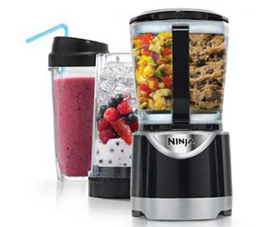 Here is your chance to enter once to win A Ninja Kitchen System Pulse that will give you the power and convenience to live a healthy lifestyle!