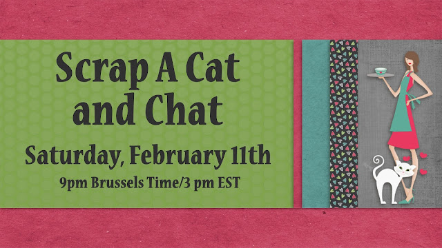 Scrap A Cat and Chat Event