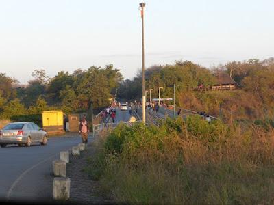 Puente de hierro de Victoria Falls