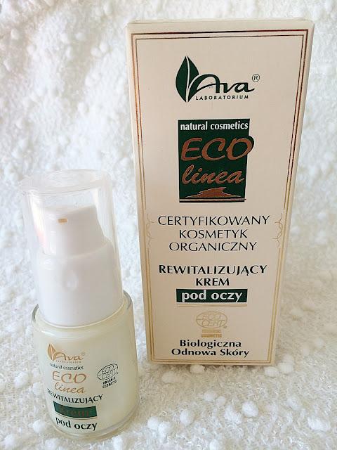 Ava, ECO Linea - rewitalizujący krem pod oczy