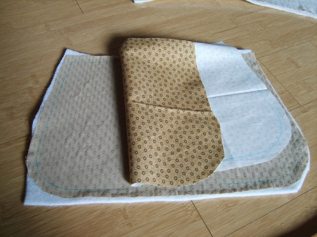 Japanese patchwork tutorial  zipper quilted appliqué handbag. DIY tutorial in pictures.