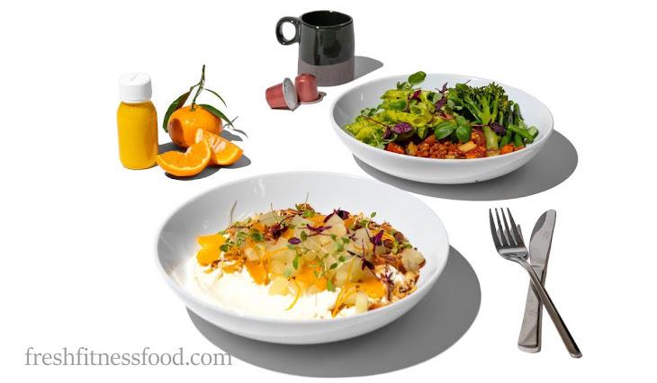 Fresh Fitness Food donáška jedla