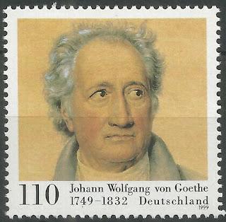 Germany 1999 Johann Wolfgang Von Goethe