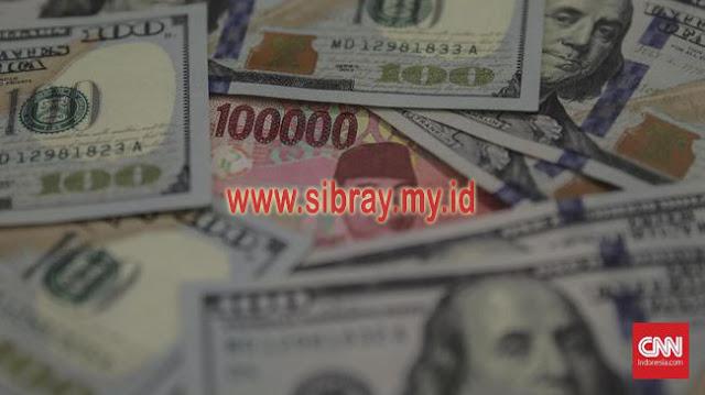 Dibuka Menguat, Rupiah Balik Anjlok ke Rp14.630 per Dolar AS