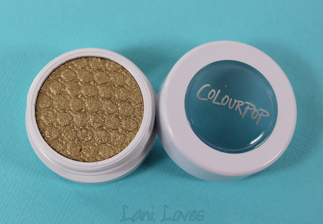 ColourPop Super Shock Shadow - Cheap Date Swatches & Review