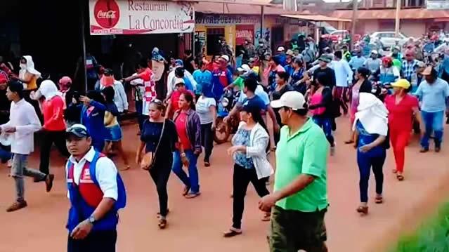 Gobierno informa que aprehendidos revelan que marcha en Beni en cuarentena fue política