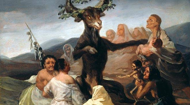 Sangre de niños: El aquelarre de Goya