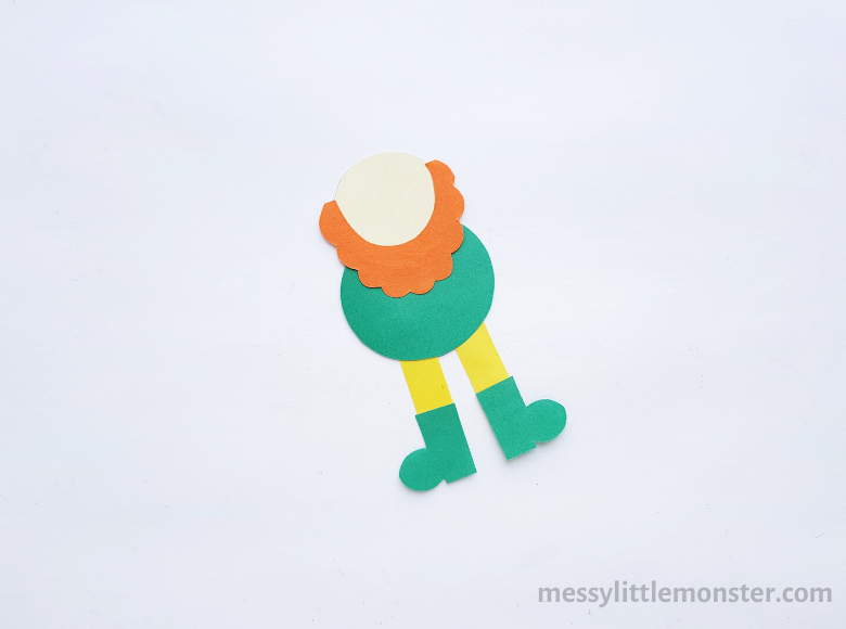leprechaun paper craft
