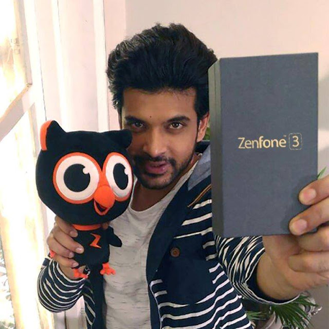 ASUS Zenfone 3 - TV heart-throb Karan Kundra totally digging the incredible experiences on the all new ASUS ZenFone 3