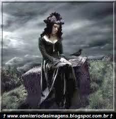 gotica,vestido,preto,temporal