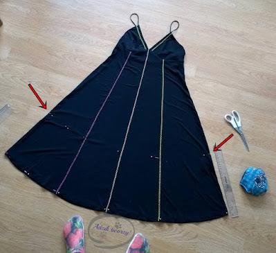 Dziecięca spódniczka DIY z gumą w pasie - Adzik tworzy